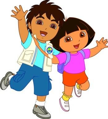 Op avontuur met Dora en Diego
